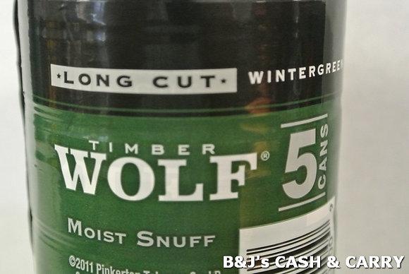 Timber Wolf Moist Snuff