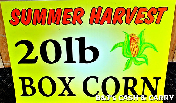 20 LB Boxes of Summer Harvest Corn