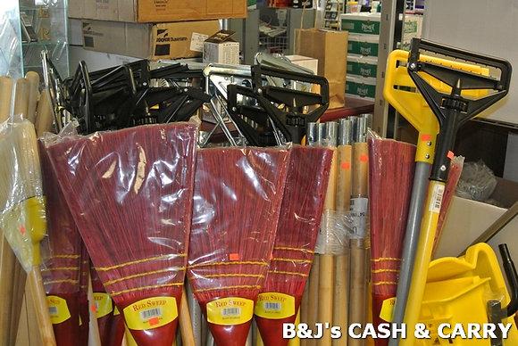 Brooms and Mop Handles