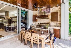Outdoor Kitchens Built on Lake Gaston