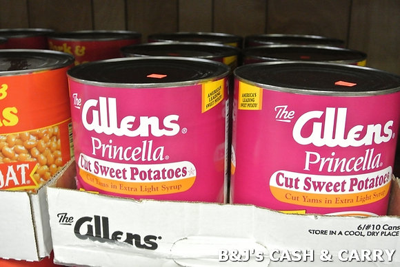 Allen's Cut Sweet Potatoes #10 Can