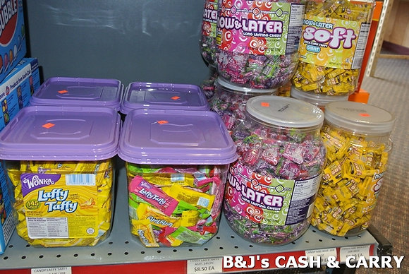 Laffy Taffy & Now or Laters Candies