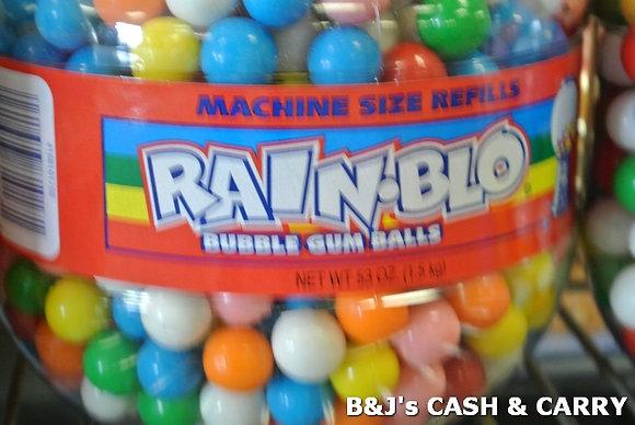 Rain-Blo Machines Size Gum Balls