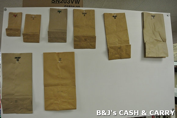 Wide Selection of Paper Bags