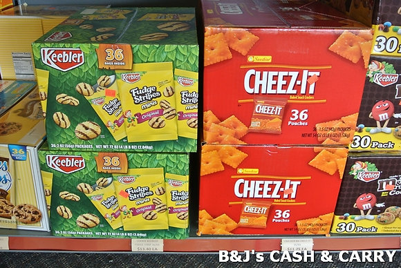 Keebler Cookie & Cheez-It Snack Bags