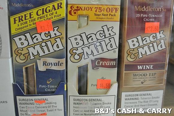 Middleton's Black & Mild Cigars