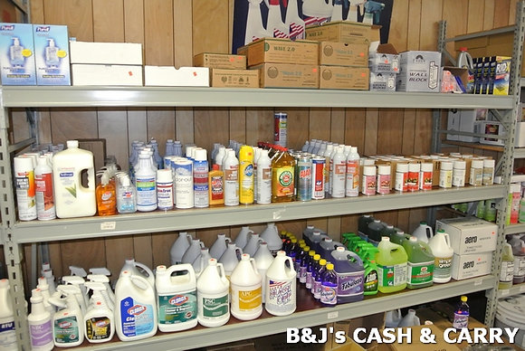 Large Selection of Janitorial Supplies