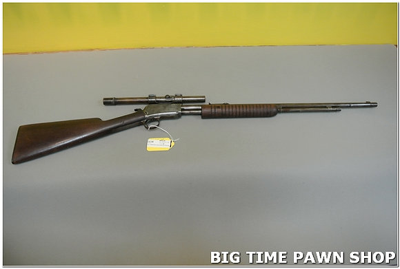 Winchester Model 62A .22 LR Pump w/ Scope