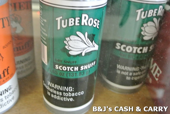 Tube Rose, Society, Navy & Ralph's Snuff