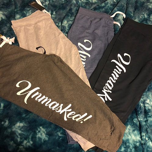 Unmasked! Joggers