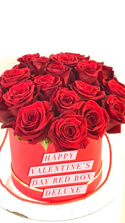 Happy Valentines Day Red Box Deluxe