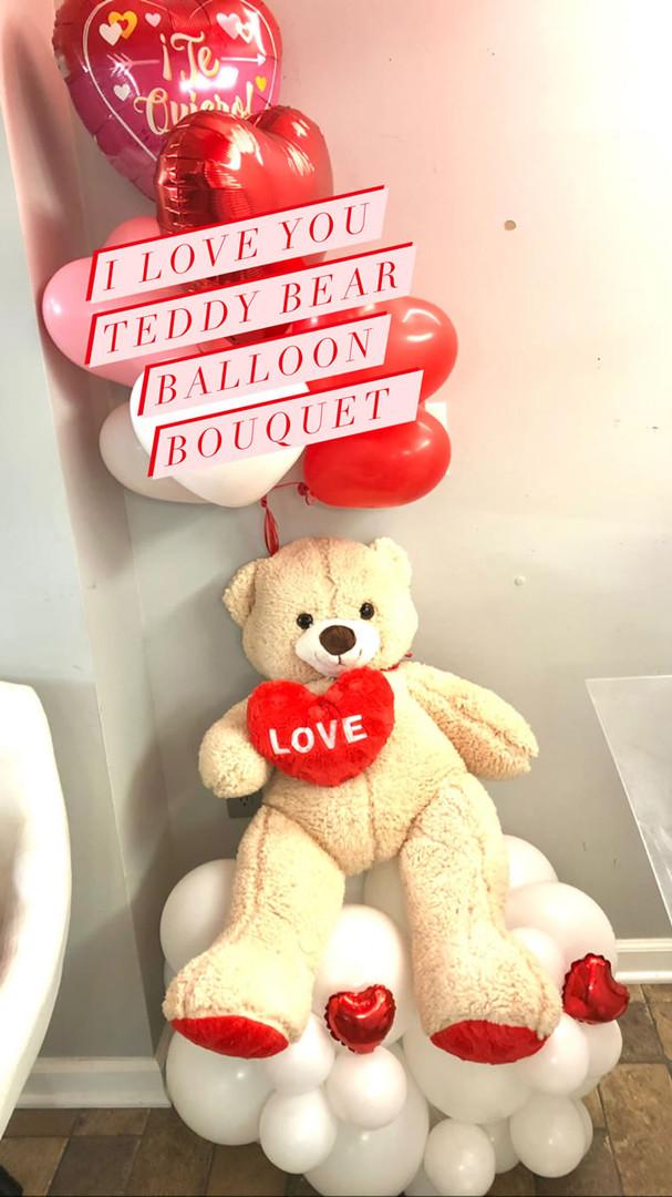 Teddy Bear Balloon Bouquet