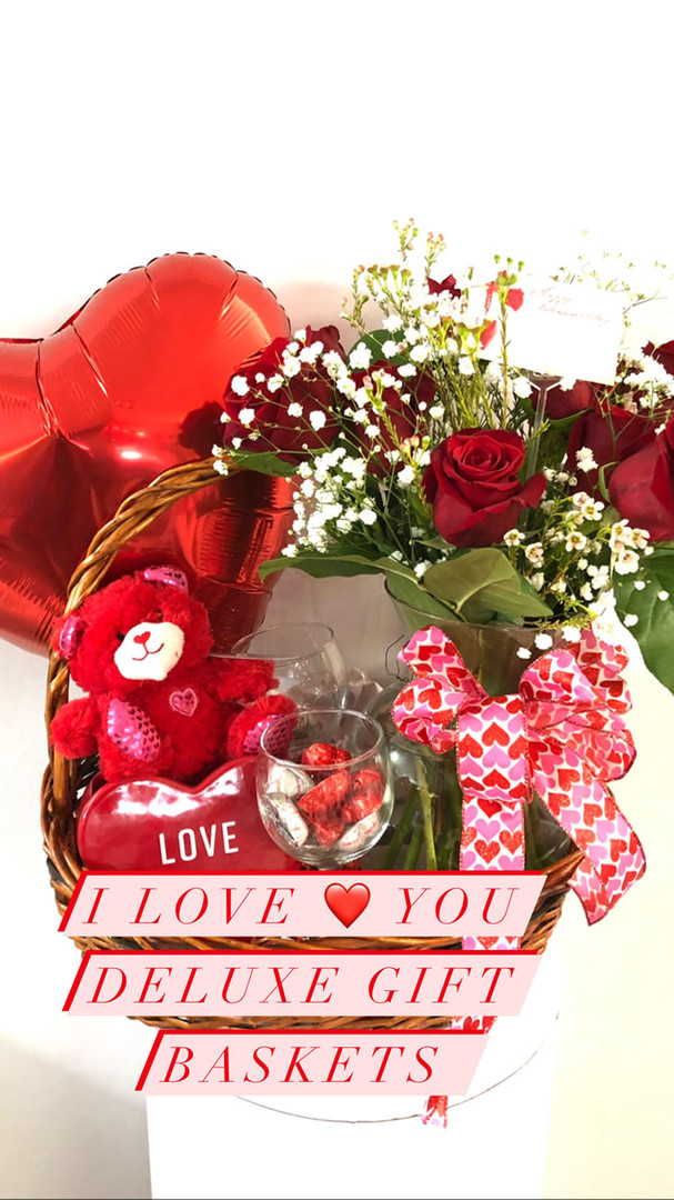 I Love You Deluxe Gift Basket
