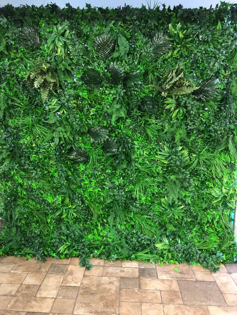 Wild Foliage Wall