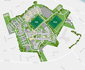 Example of stylised campus map