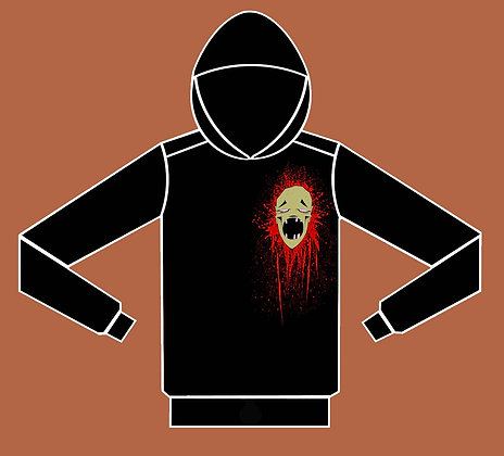 Zombie Pullover Hoodie - Color