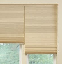 honeycomb and cellular shade two-on-one headrail