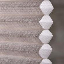 honeycomb and cellular shade semi-sheer fabric
