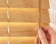 Custom Faux Wood Blinds