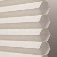 honeycomb and cellular shade semi-opaque fabric