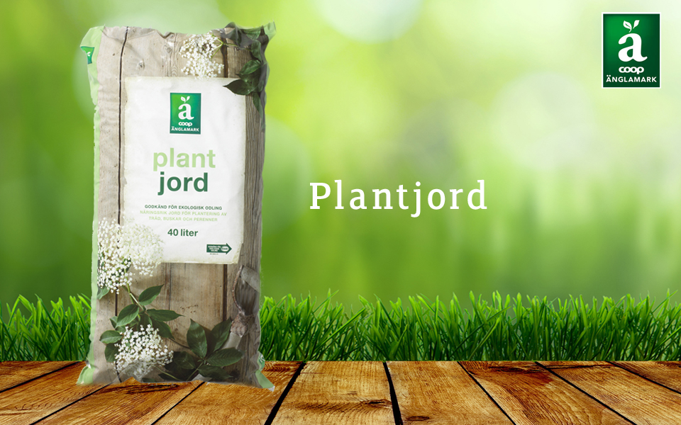 Änglamark Plantjord