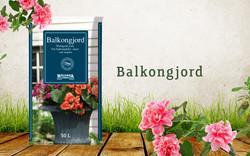 Balkongjord