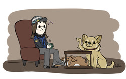 Puppysitting