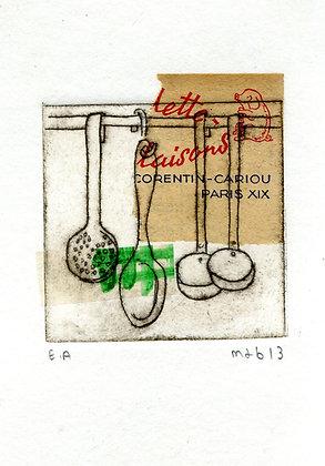 gravure pointe sèche