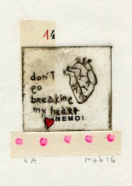 gravure my valentine