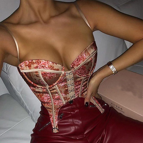 Red Heart Corset