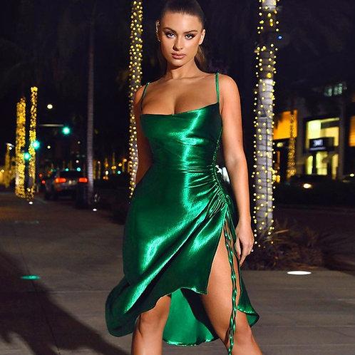 Ladies Satin Dress