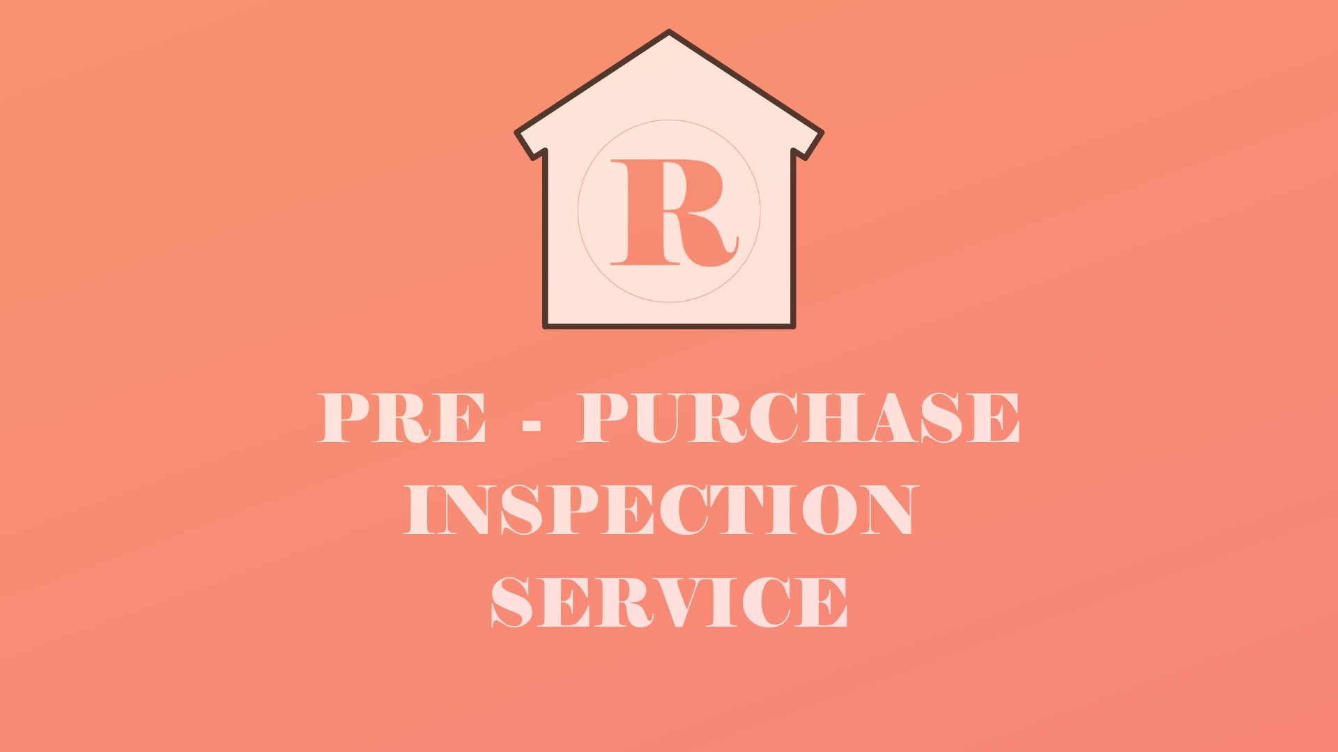 BASIC PACKAGE PRE -PURCHASE INSPECTION