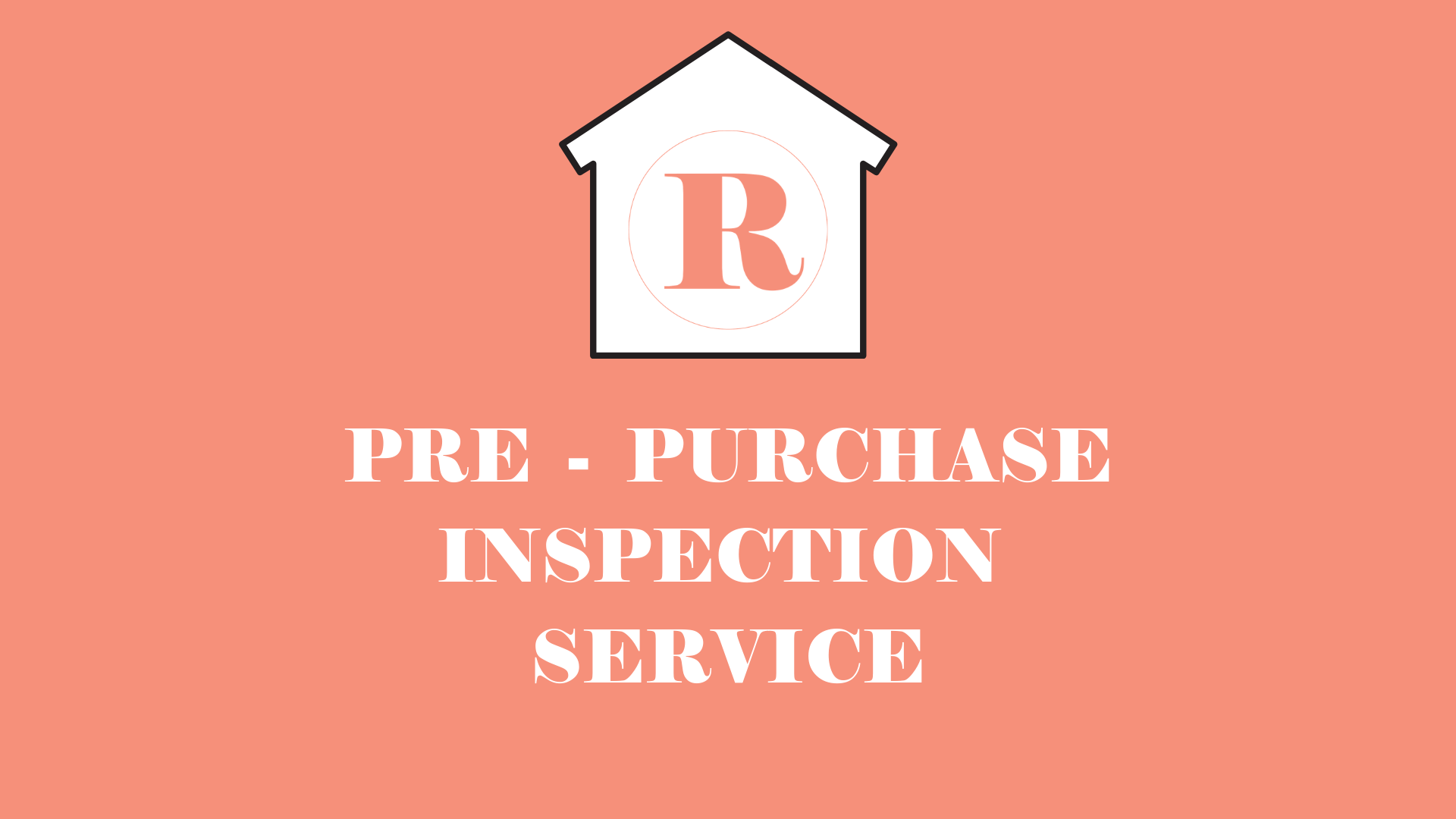 Pre PURCHASE INSPECTION with BUILDING