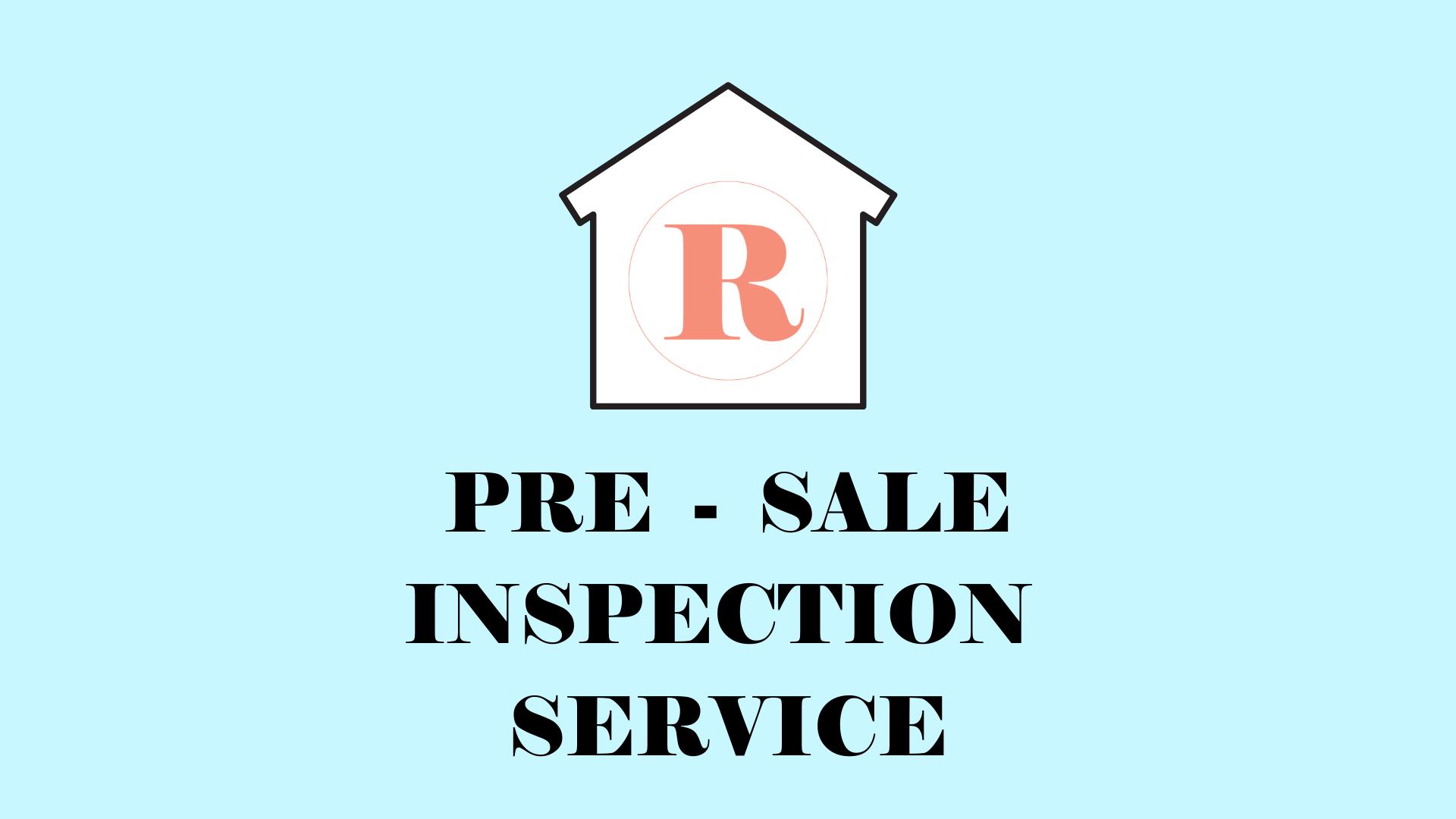 💻PRE SALE INSPECTION SERVICE