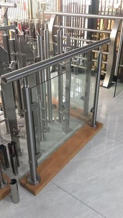Glass railing parts