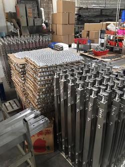 AISI304/316 glass railing posts