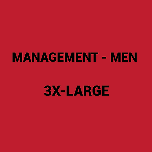 Mens MANAGEMENT Box -3XLarge