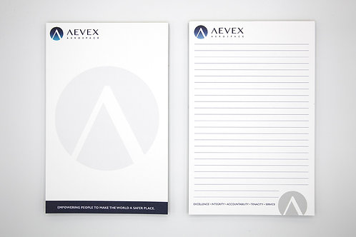 AEVEX Notepad
