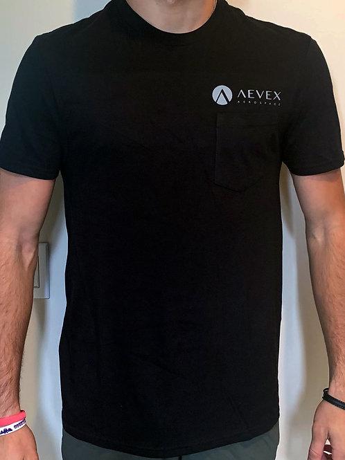 Pocket T-Shirt with Large Back Logo
