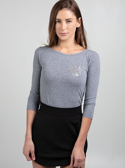 Women's Fitted embellished Long Sleeve