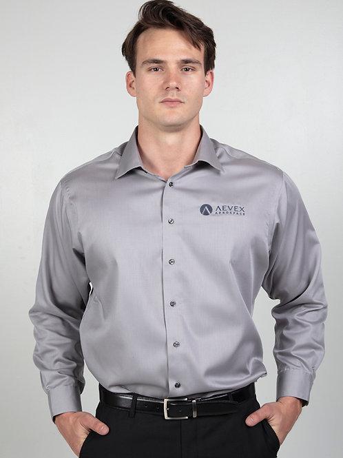 Calvin Klein Light Gray Dress Shirt (Men's)