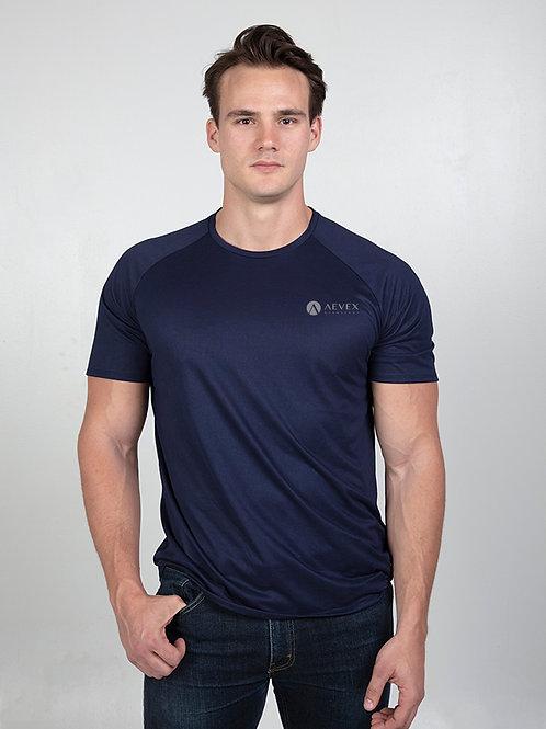 Under Armour Navy Sweat Resistant T-shirt (Men's)