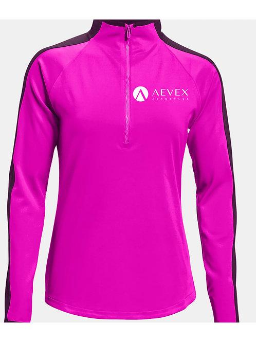UNDER ARMOUR Pink Storm Midlayer ½ Zip (Women's)