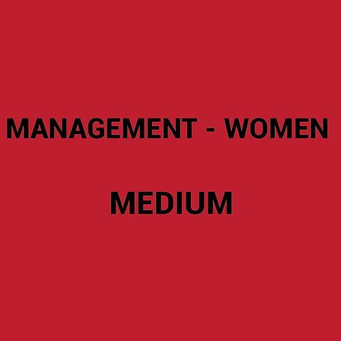Womens MANAGEMENT Box -MEDIUM