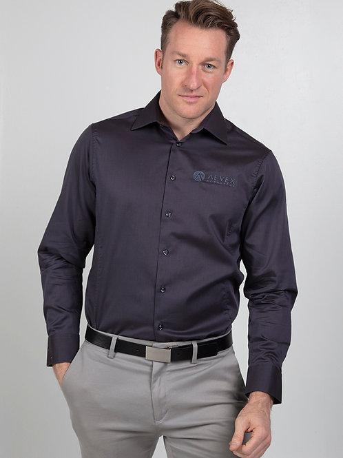 Calvin Klein Dark Gray Dress Shirt (Men's)