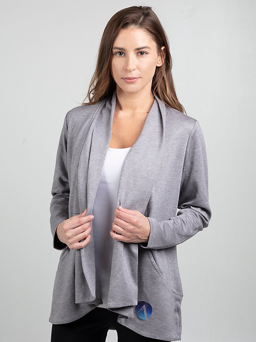 Gray Party Cardi (Women's)