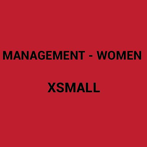 Womens MANAGEMENT Box -XSmall