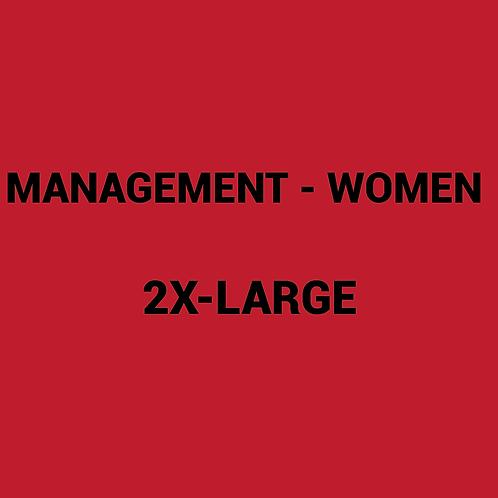 Womens MANAGEMENT Box -2XLarge