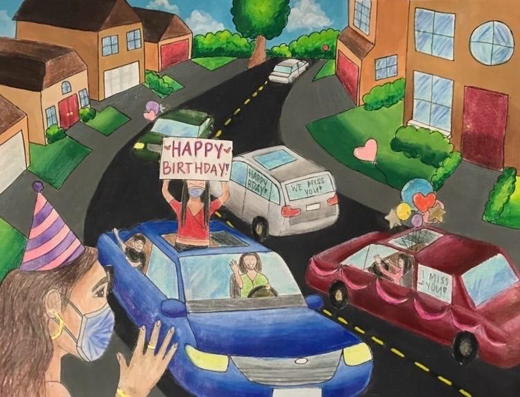 Birthday Drive By