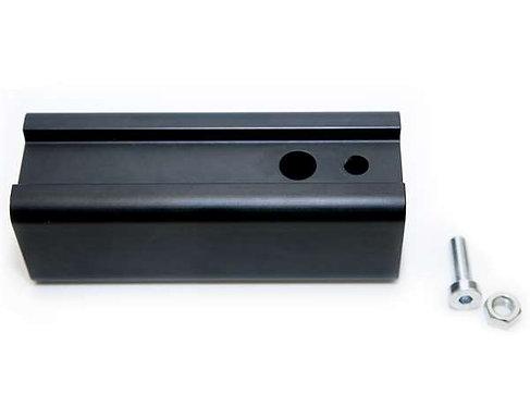 Adaptador de enganche de aluminio
